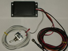 Electronic Control box only no flip plate
