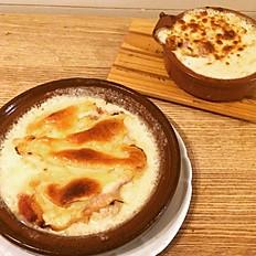 Escalope Savoyarde & Crozets