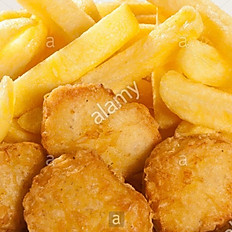 Nuggets de poulet + Frites