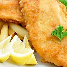 Fish & Chips + aïoli