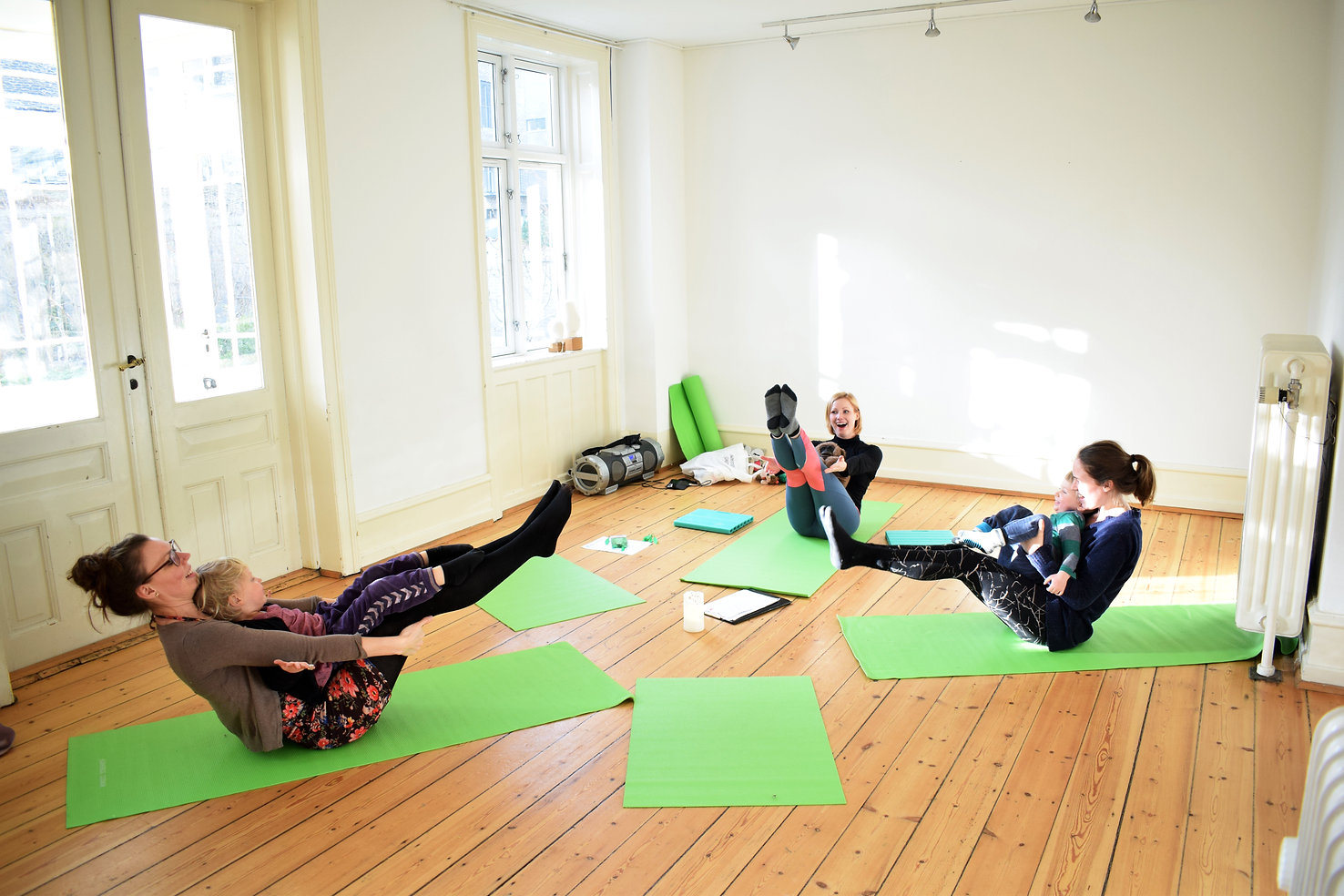 Forælder/barn yoga