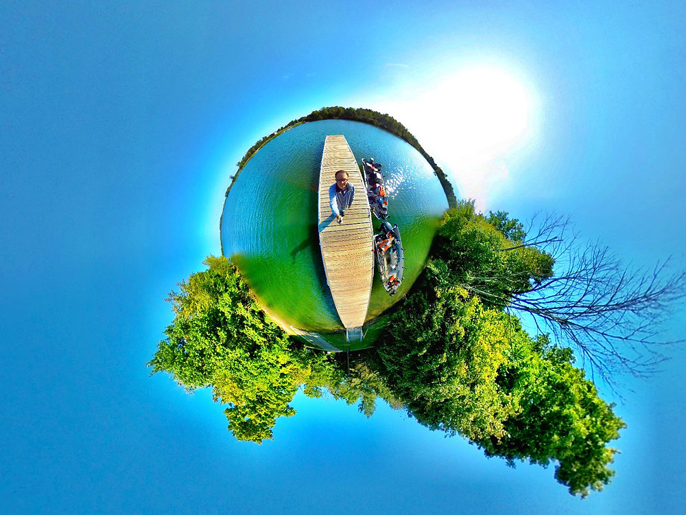 360 photography lake