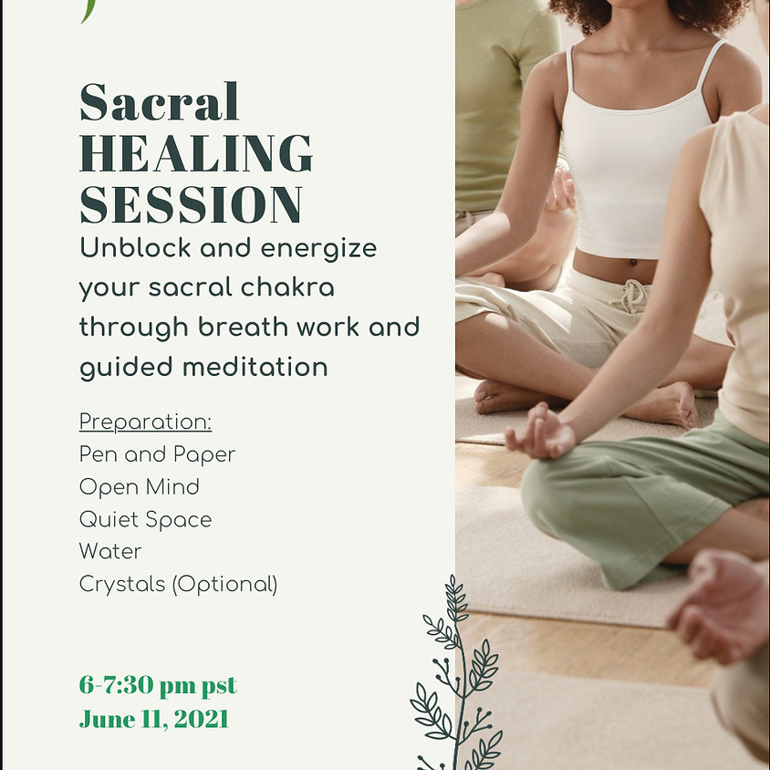 Sacral Healing Session