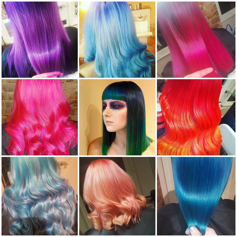 Creative Colour by the Bespoke Hairdressers