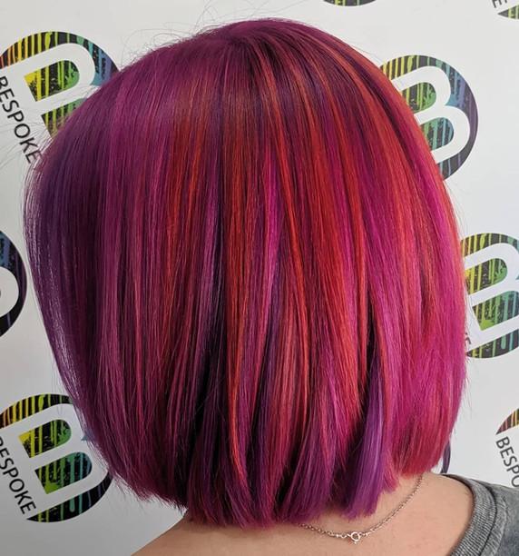 Fruit Salad Inspired Hair Colour