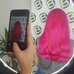 Pink Statement Hair Colour