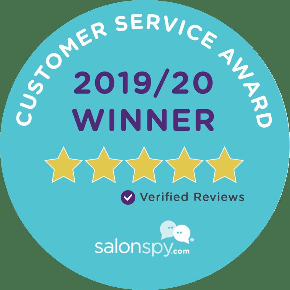Bespoke Salon Wins Customer Service Award 2019