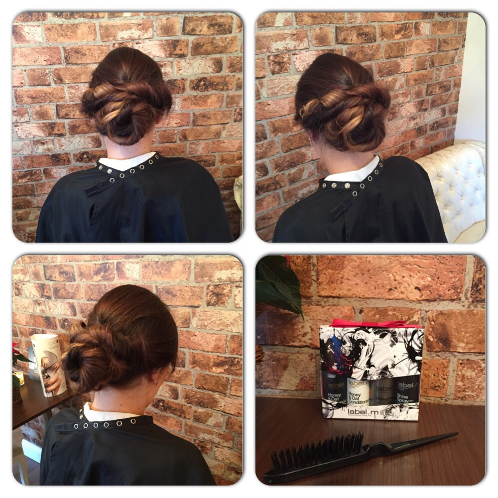 Twisted Updo at Bespoke Salon Dunfermline