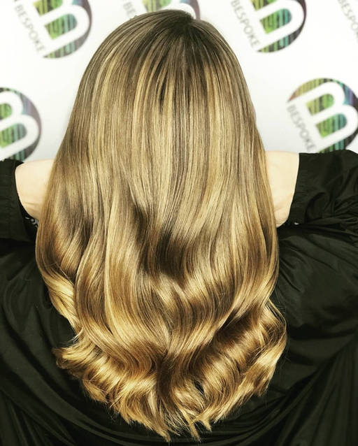 Blonde Freelights by your Dunfermline Hairdresser