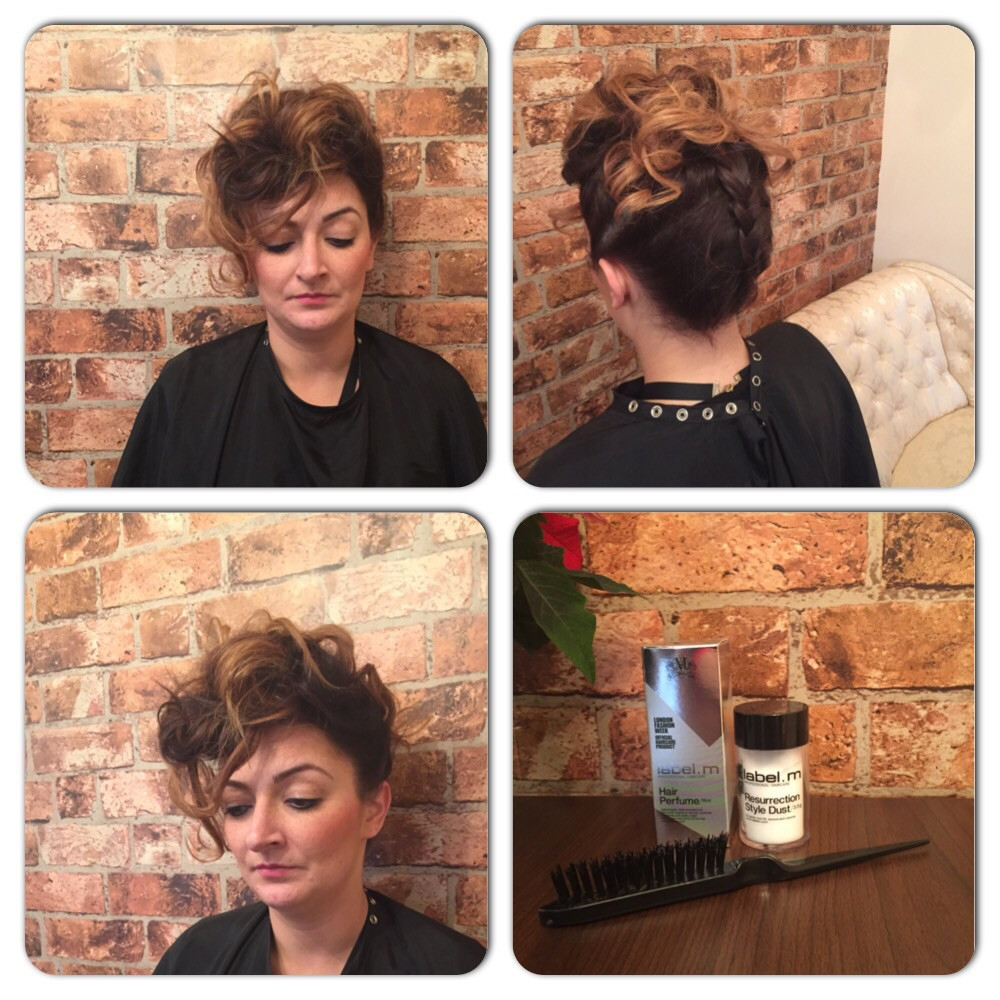 Glam Vintage Updo at Bespoke Salon Dunfermline