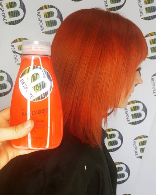 Tangerine Hair Colour