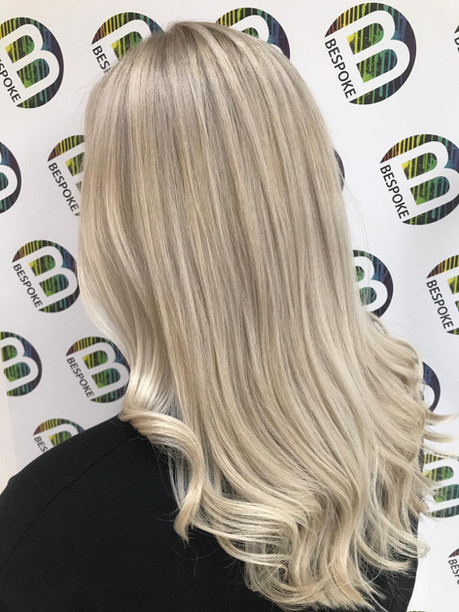 Blonde Highlights at Bespoke Salon