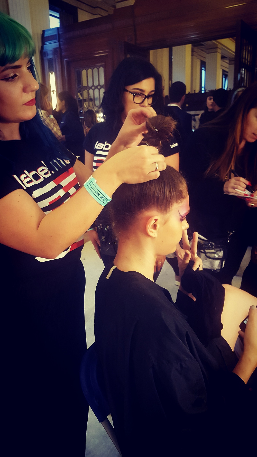 Keira Hair Styling at London Fashion Week