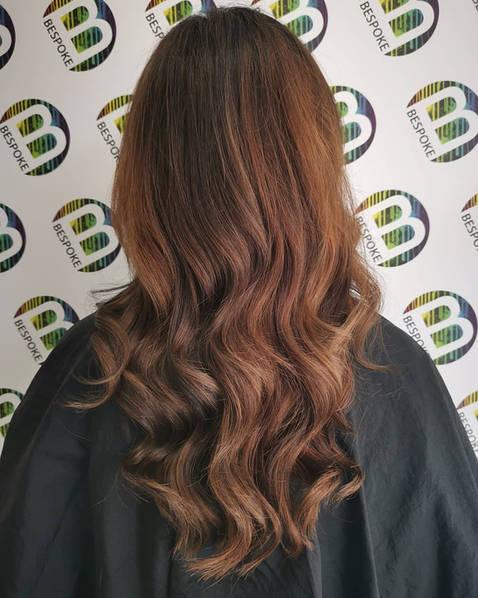 Chestnut Brown Wavy Hair in Your Hair Salon