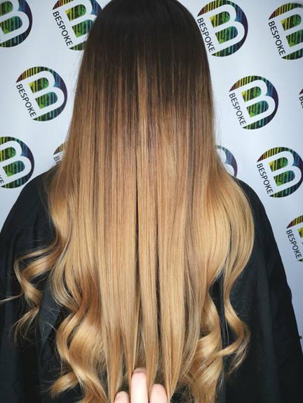 Balayage Long Dreamy Blonde Hair Colour