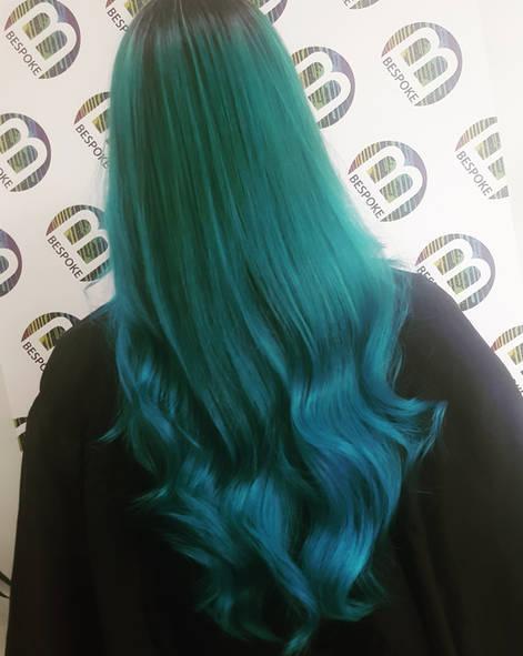 Mermaid Hair Colour at Bespoke Hair Salon