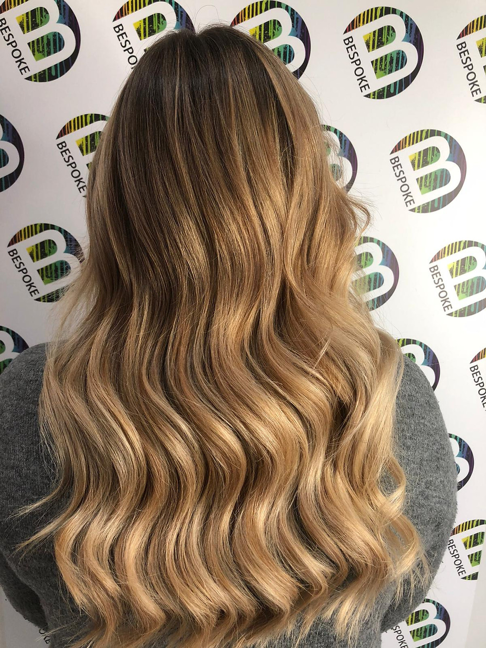 Butterscotch Delight Balayage at Bespoke Salon Dunfermline