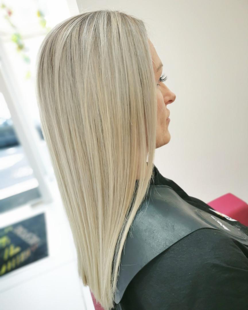 Blonde Shadow Root at Bespoke Salon