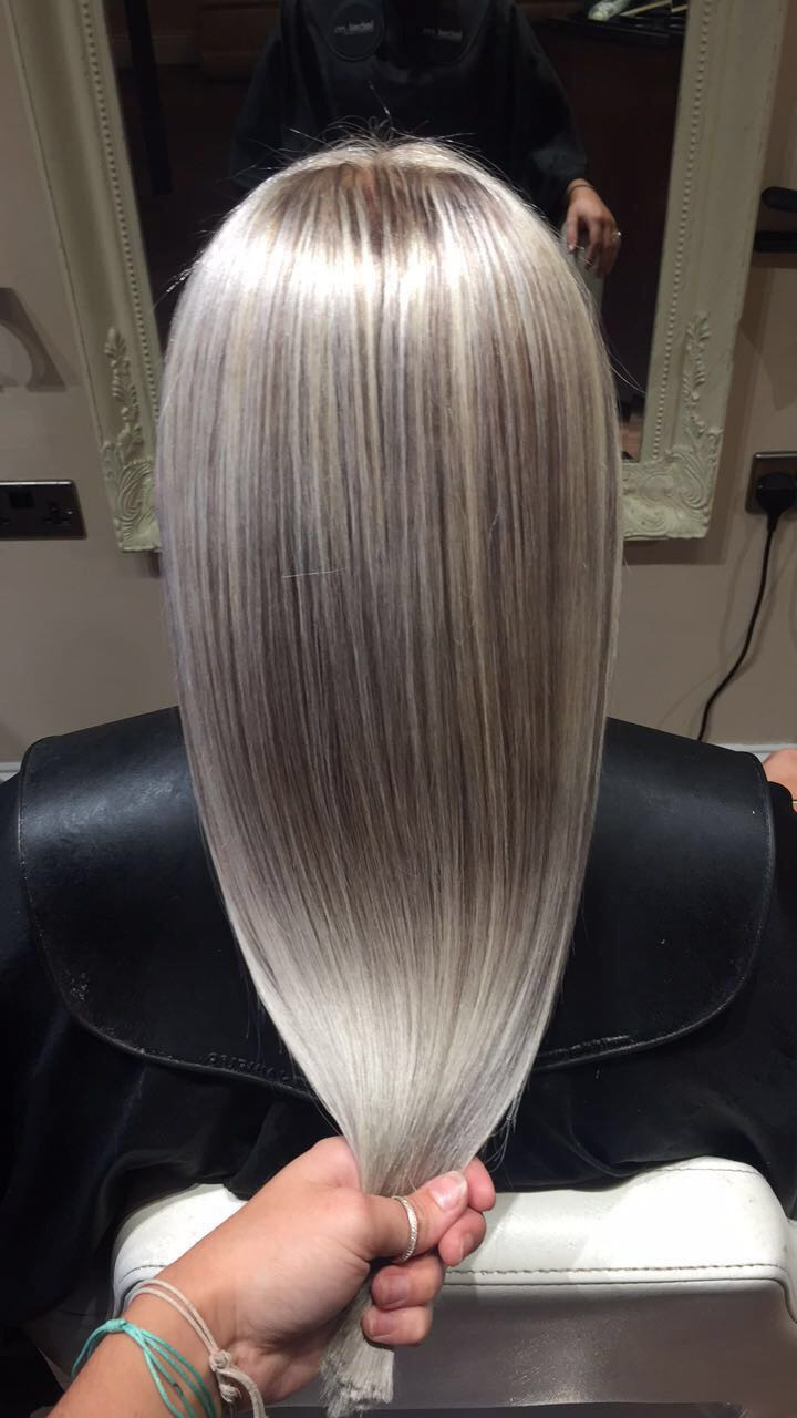 Platinum Hair at our Dunfermline Salon