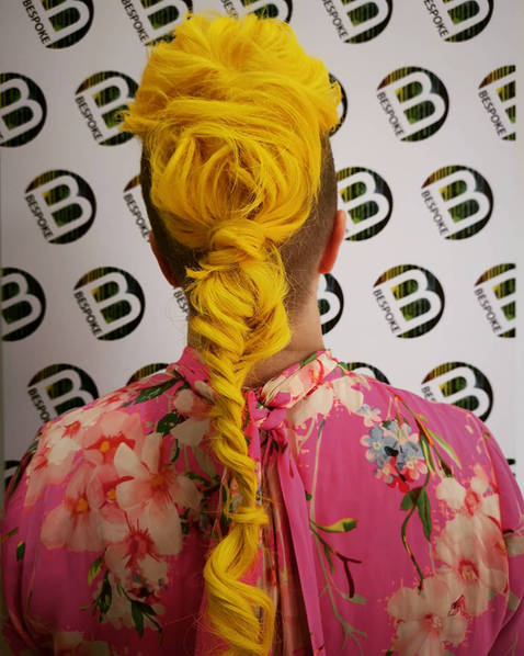 Sunshine Yellow Long Hair