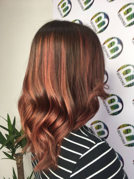 Bronze Hair Colour
