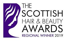 Regional Winner Logo Scottish Hair and Beauty Awards