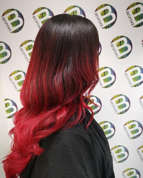 Vampy Red Balayage