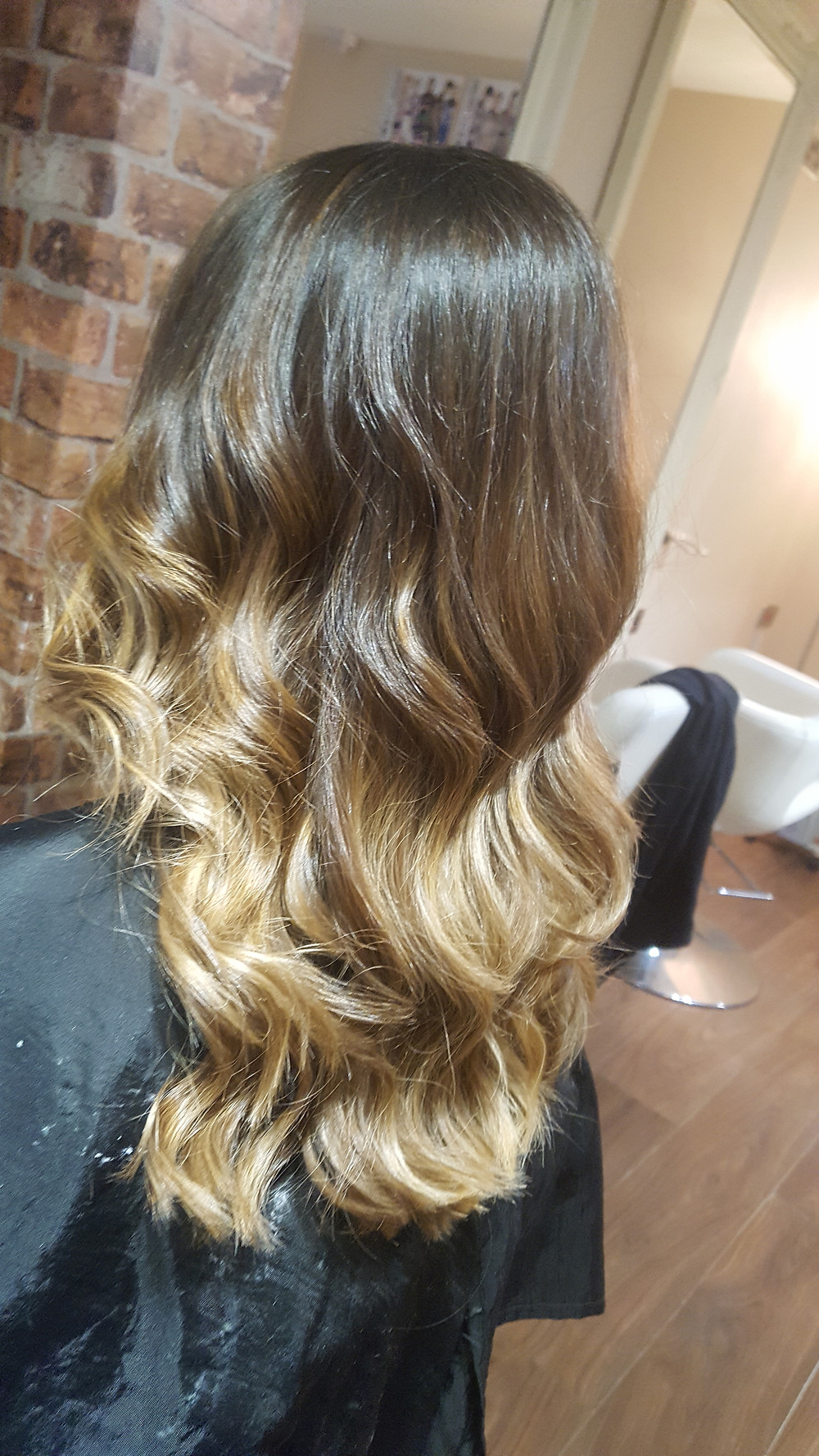 Golden Honey Balayage by the Bespoke Hairdressers