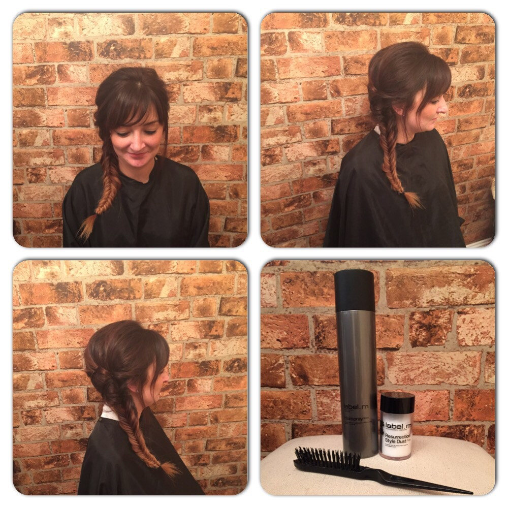 Fishtail Plait at Bespoke Salon Dunfermline