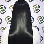 Shiny Healthy Black Long Hair