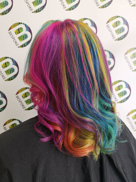 Multi Coloured Hair
