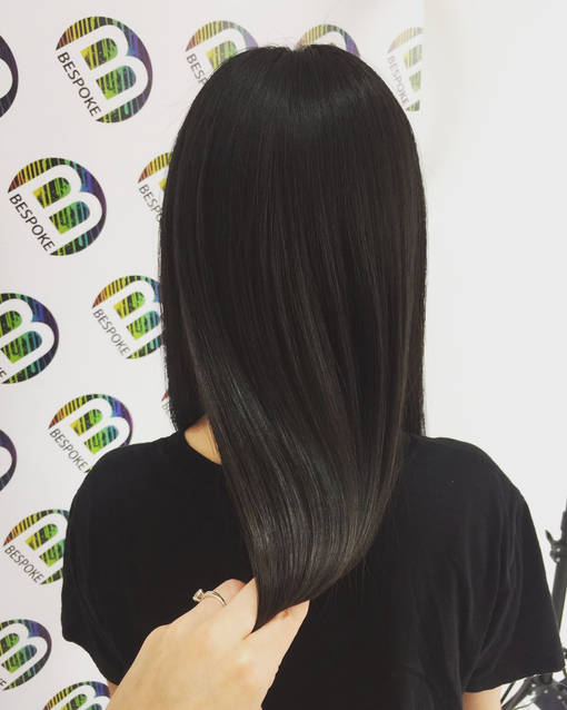 Oil Slick Hair Colour at Bespoke Salon