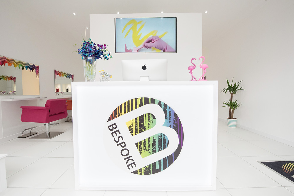 Bespoke Salon Dunfermline Reception