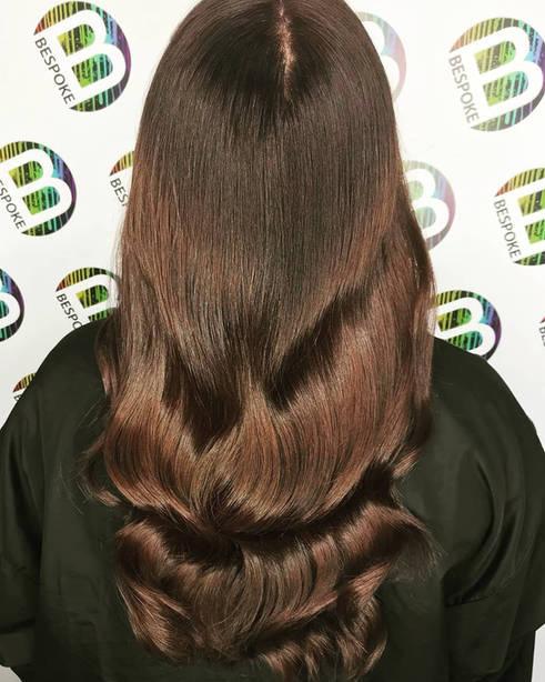 Chocolate Fountain Hair Colour