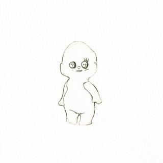 古屋郁「海でひろった人形」.jpg