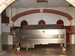 Cave de vignification pressoir à raisin pneumatique