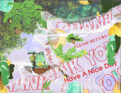 THANK YOU - multi media collage