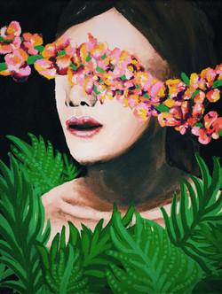 unguarded - Acrylic on Canvas
