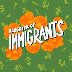 Daughter of Immigrants, digital illustration