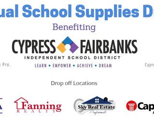 2018 Annual School Supplies Drive