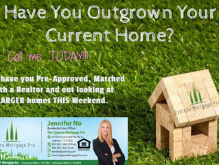 Have You Outgrown Your Home????