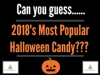 2018's Most Popular Halloween Candy