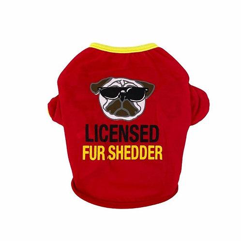 """Body """"Licensed Fur Shedder"""""""