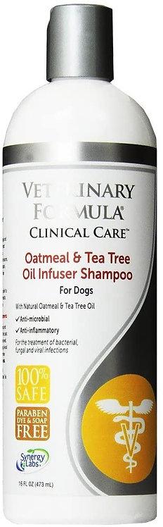 Shampoo medicado infusor de avena y aceite de árbol de té