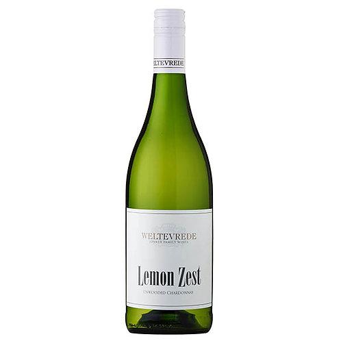 Weltevrede Lemon Zest Chardonnay