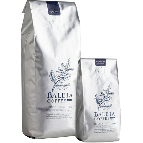 Baleia House Blend Coffee Ground 1Kg