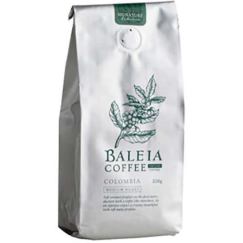 Baleia Columbia Coffee Beans 250G