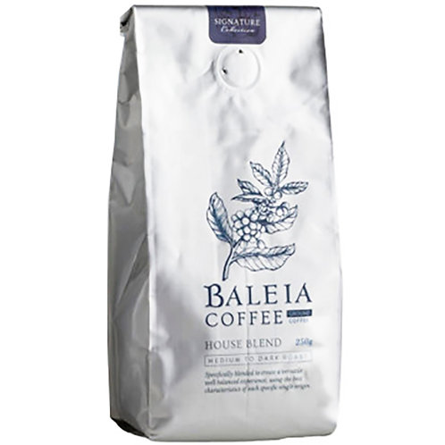 Baleia House Blend Coffee Ground 250G