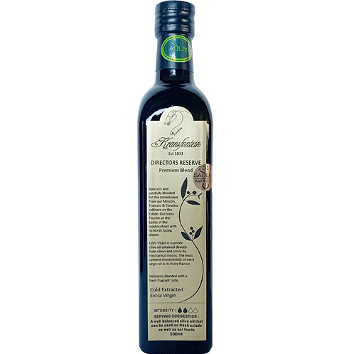 Kransfontein Directors Reserve Olive Oil 500ML