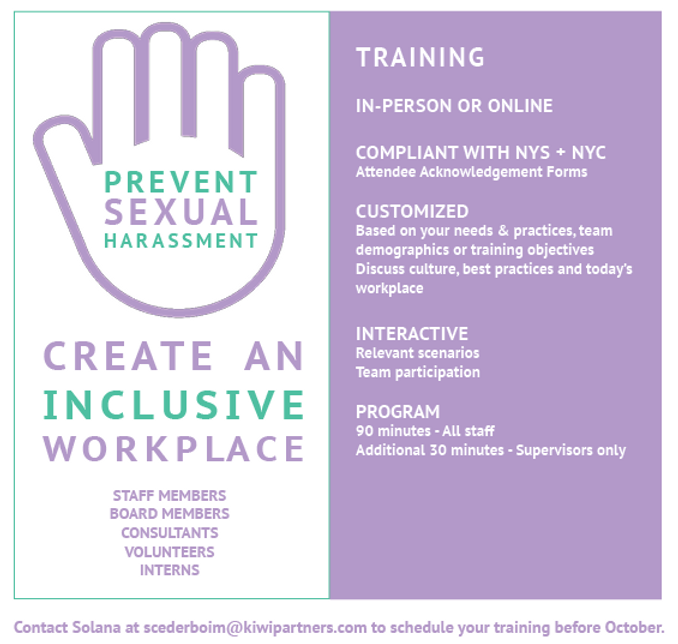 Sexual Harassment Prevention Training 9.